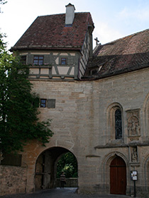 St. Wolfgang in Rothenburg
